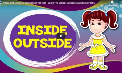 Inside and Outside | Comparison for Kids